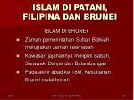 islam di patani filipina dan brunei5