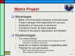 matrix project1