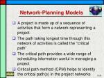 network planning models