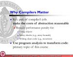 why compilers matter1