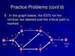 practice problems cont d8