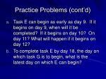 practice problems cont d9