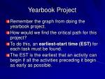 yearbook project