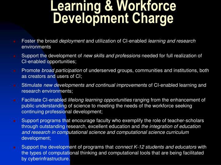 Learning & Workforce