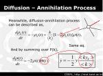diffusion annihilation process1