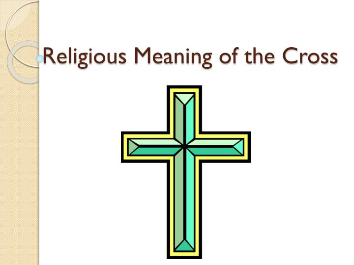 religious meaning of the cross n.