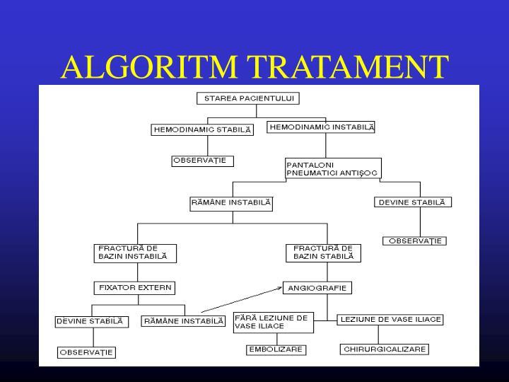 ALGORITM TRATAMENT