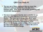 qbs case study 1