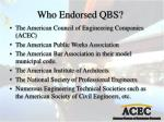 who endorsed qbs