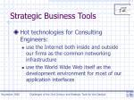 strategic business tools
