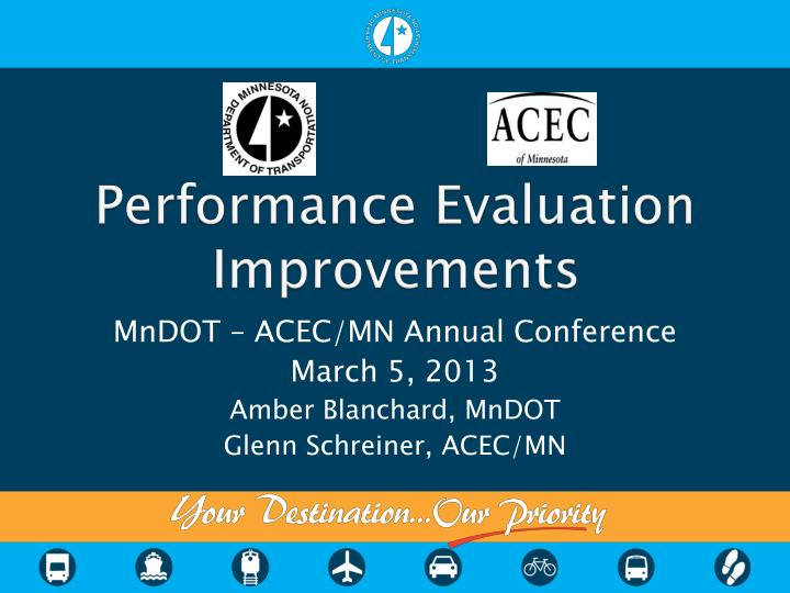 performance evaluation improvements n.