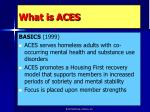 what is aces