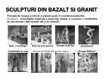 sculpturi din bazalt si granit