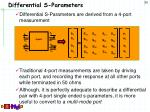 differential s parameters