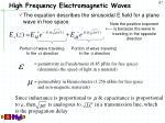 high frequency electromagnetic waves3