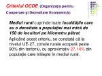 criteriul ocde organiza ia pentru cooperare i dezvoltare economic
