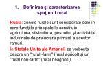 definirea i caracterizarea spa iului rural2