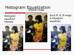 histogram equalization11