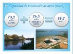 capacidad de producci n de agua m3 s