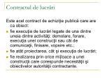 contractul de lucr ri