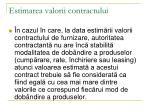 estimarea valorii contractului4