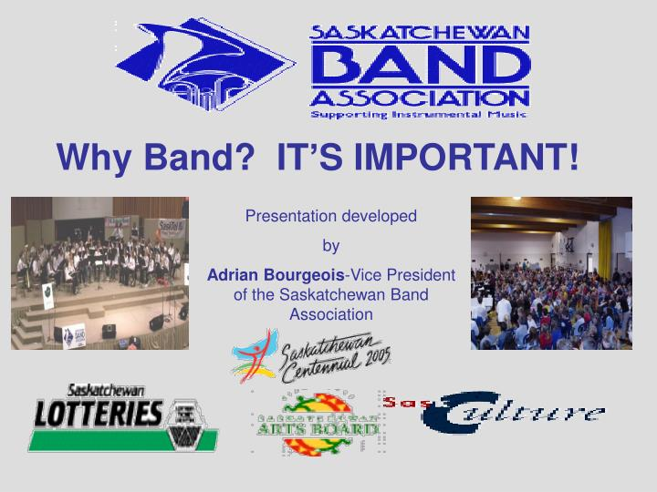 why band it s important n.
