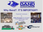 why band it s important