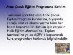 anne ocuk e itim program na kat l m