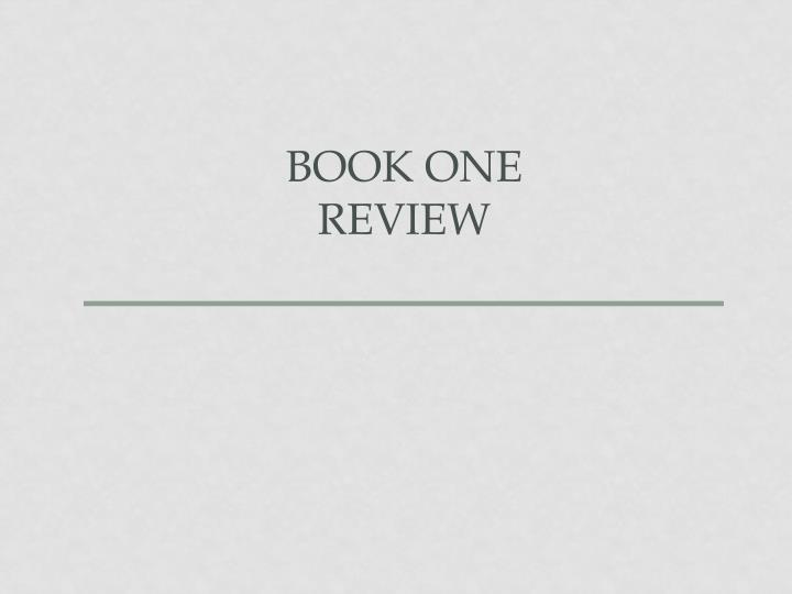 book one review n.