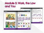 module 5 work the law and you1