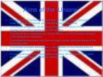 aims of the unione