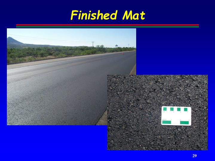 Finished Mat