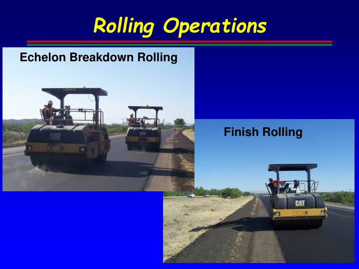 Rolling Operations