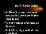 basic safety rules2