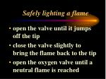 safely lighting a flame5