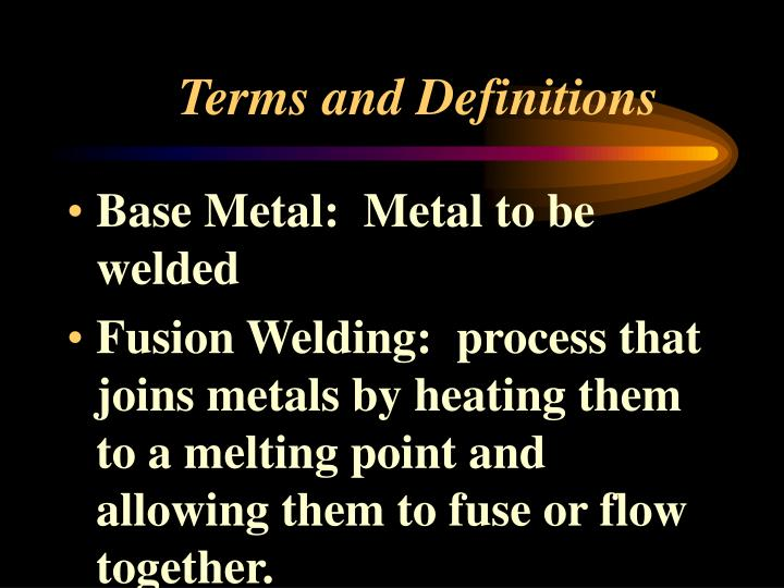 terms and definitions n.