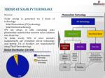 trends of solar pv technology