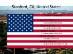 stanford ca united states1