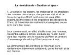 la r volution de gaudium et spes1