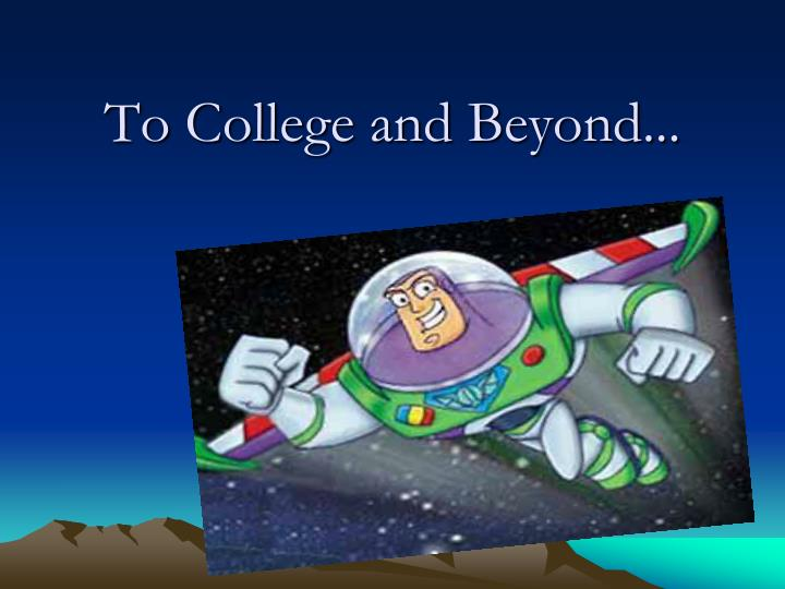 to college and beyond n.
