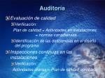 auditor a