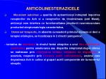 anticolinesterazicele