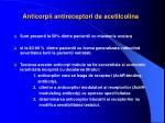 anticorpii antireceptori de acetilcolina