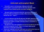 anticorpii antireceptori musk
