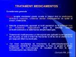 tratament medicamentos