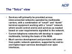 the telco view