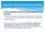 iii the classic grief work model1