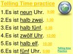 telling time practice1