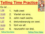 telling time practice2