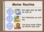meine routine1